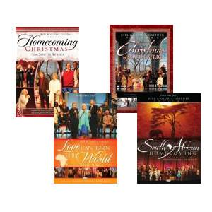 Gaither South Africa DVD Value Pack