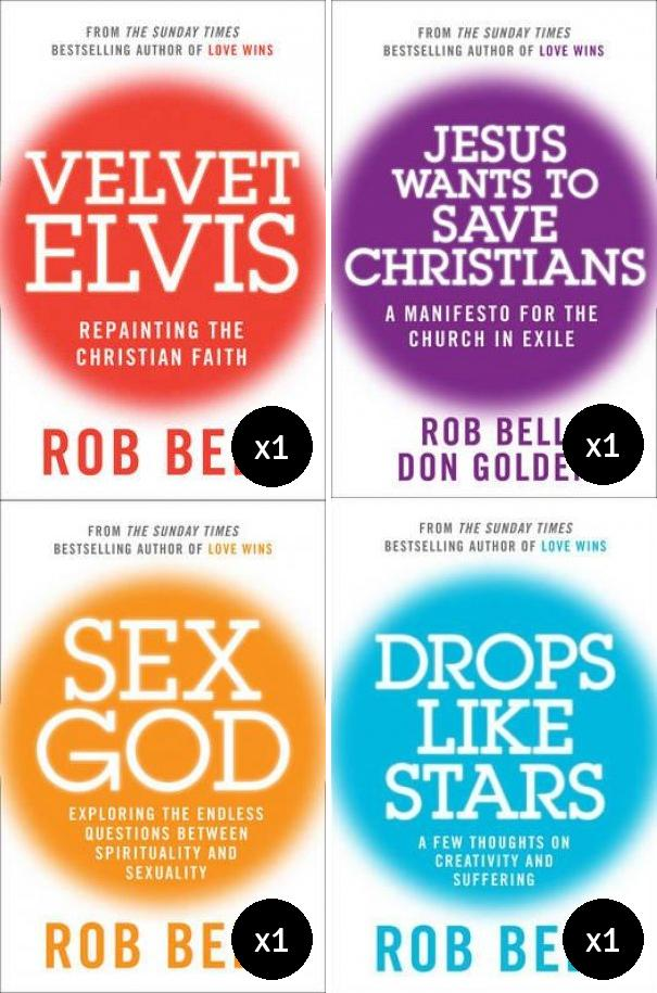 Rob Bell Value Pack