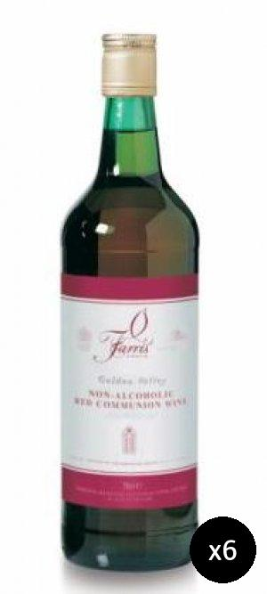 Non-Alcoholic Communion Wine Pack of 6
