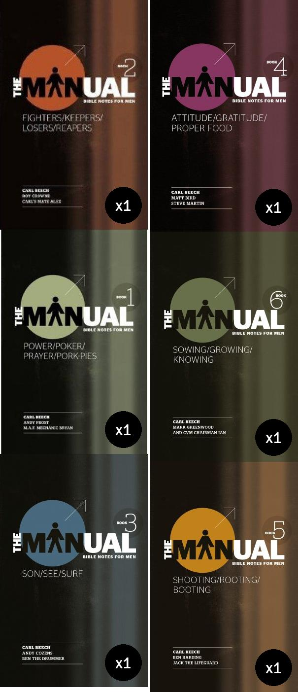 The Manual Books 1-6 Value Pack