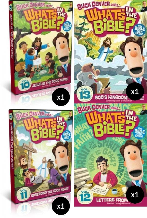 What's In The Bible New Testament Value Pack