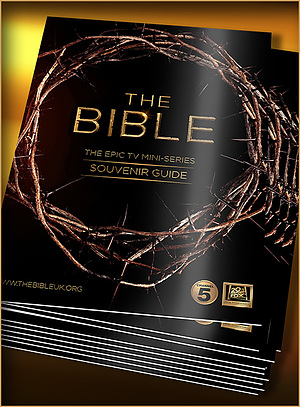 The Bible Mini Series Souvenir Guide Pack of 100