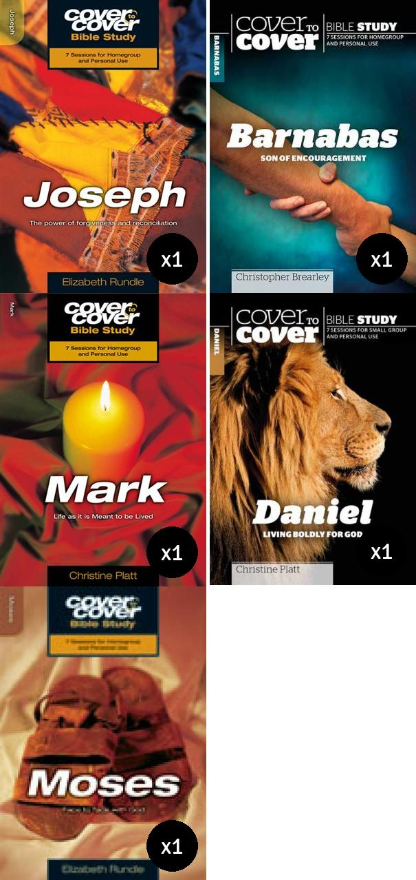 Cover to Cover Men of the Bible Value Pack