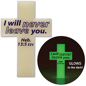Glow in the Dark Cross Pack of 10
