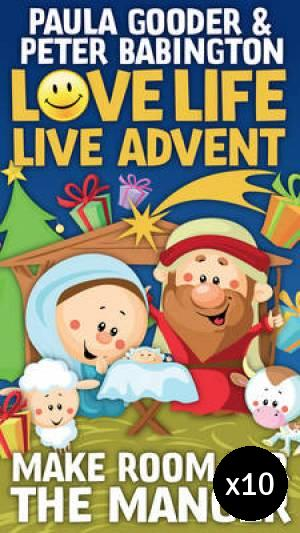 Live Life Love Advent Pack of 10