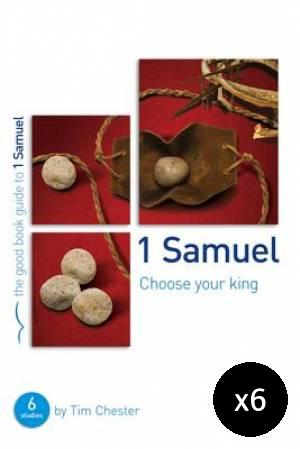 1 Samuel: Choose Your King Pack of 6