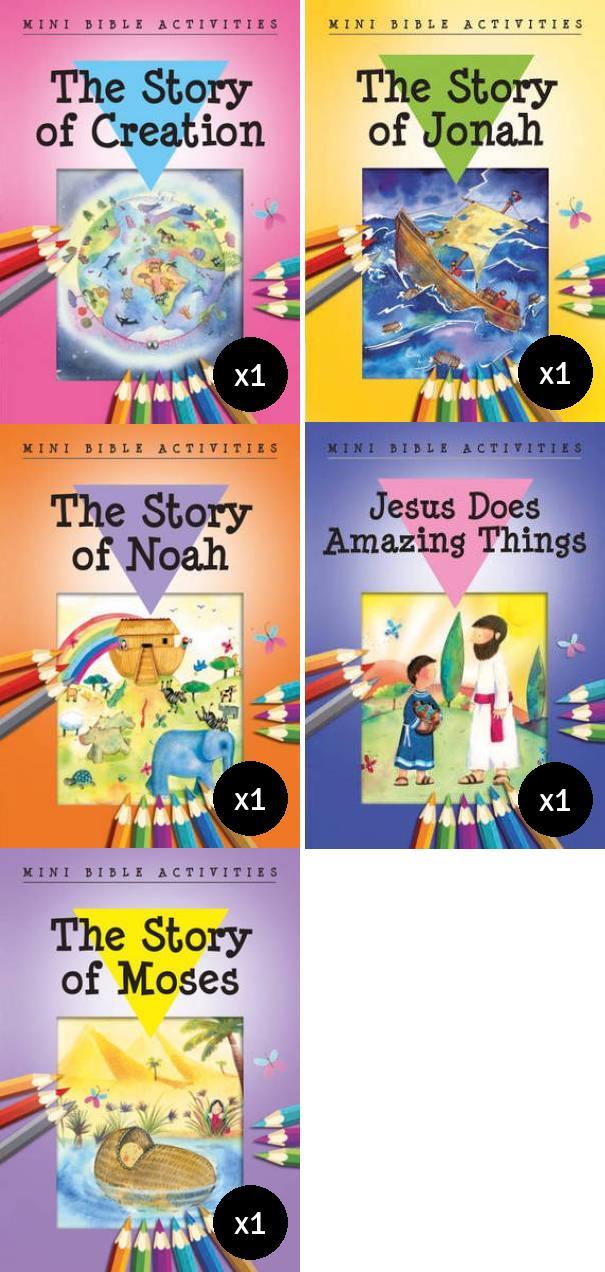 Mini Bible Activities Value Pack