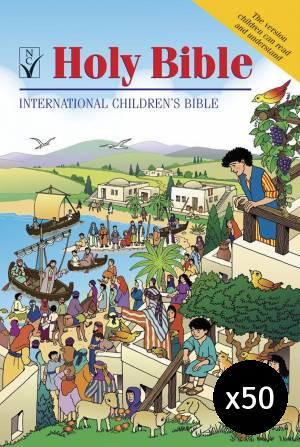 ICB Children's Bible Pack of 50
