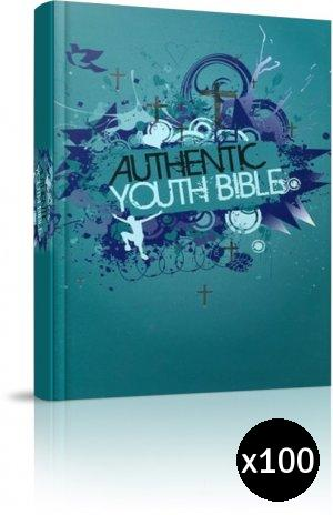 ERV Youth Bible Teal Pack of 100