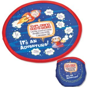 Exploring God's Word Flying Disc with Storage Pouch Pack of 12
