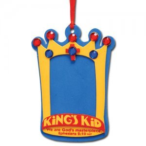 I'm a King's Kid Foam Crown Activity Kit Pack of 12