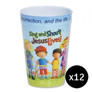 Sing and Shout Tumbler Pack of 12