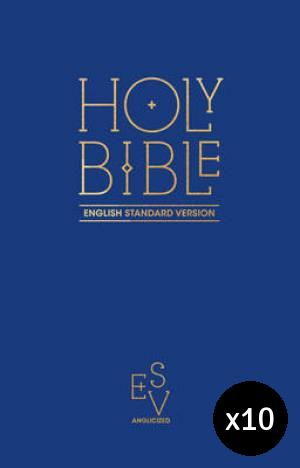 ESV Anglicised Pew Bible - Pack of 10