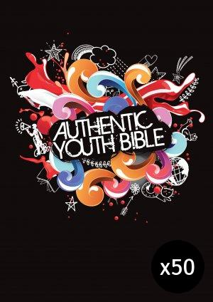 ERV Youth Bible Black - Pack of 50