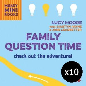 Family Question Time - Pack of 10