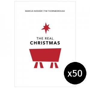 The Real Christmas - Pack of 50