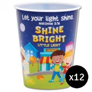 Shine Bright Little Light Single Tumbler - Bundle of 12