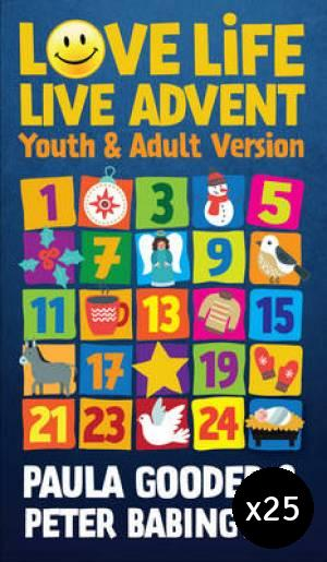 Love Life Live Advent Adult and Youth Pack of 25