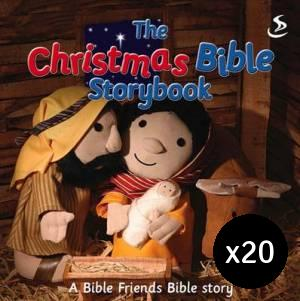 The Christmas Bible Storybook Pack of 20