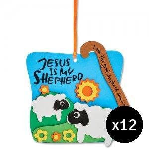 Jesus is my Shepherd Foam Kit Pack of 12