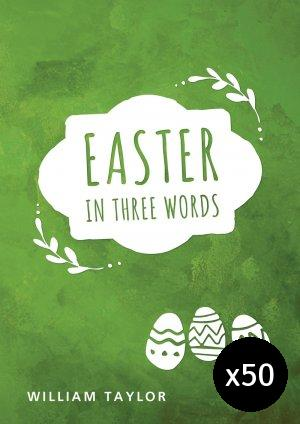 Easter in Three Words - Pack of 50