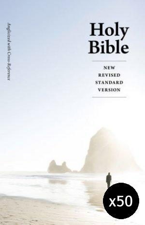 NRSV Holy Bible: New Revised Standard Version Pack of 50