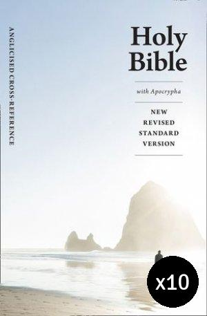NRSV Anglicised Cross-Reference edition with Apocrypha Pack of 10