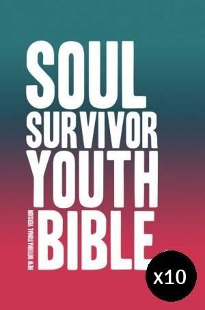 NIV Soul Survivor Youth Bible - Pack of 10