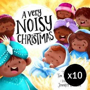 A Very Noisy Christmas - pack of 10