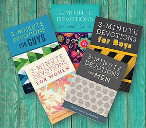 3 Minute Family Devotional Bundle