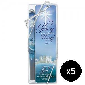 Glory Pen and Bookmark - Pack of 5