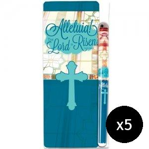 Alleluia! Pen and Bookmark Gift Set - Pack of 5