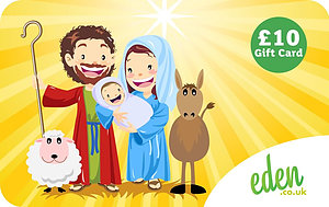 £10 Mary Joseph and Jesus Gift Card