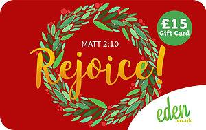 £15 Rejoice Gift Card