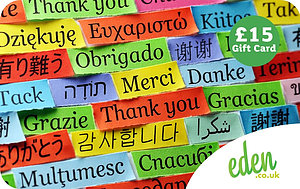 £15 Thank You Languages Gift Card