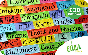 £30 Thank You Languages Gift Card