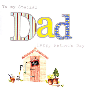 To My Special Dad - Single Card