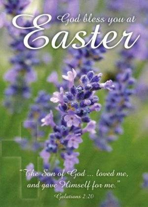 Easter Minicards - Pack of 4
