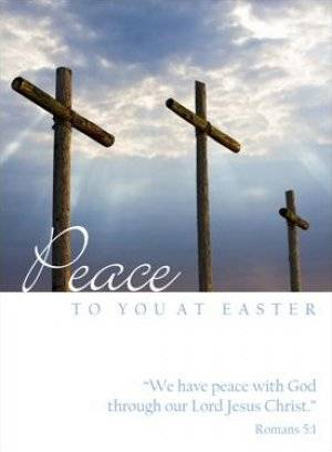 Peace to you at Easter - Pack of 4 Minicards