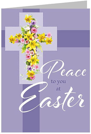 Peace at Easter Minicards - Pack of 4