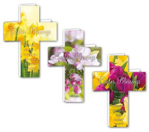 Assorted Easter Crosses Pack of 24