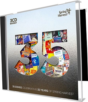 35 : 35 Songs Celebrating 35 Years of Spring Harvest 3CD Boxset