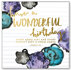 Have A Wonderful Birthday Card