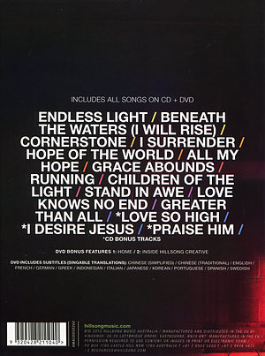 Cornerstone CD/DVD Deluxe Edition by Hillsong Live | Free ...