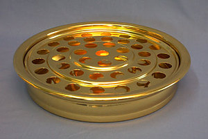 Brasstone Tray with 40 Holes (1 tray)