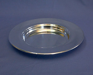 Silvertone Bread Plate (Non Stacking)