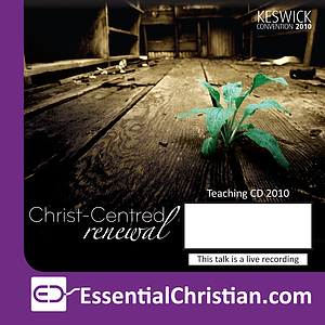 Personal renewal a talk by Dr Derek Tidball