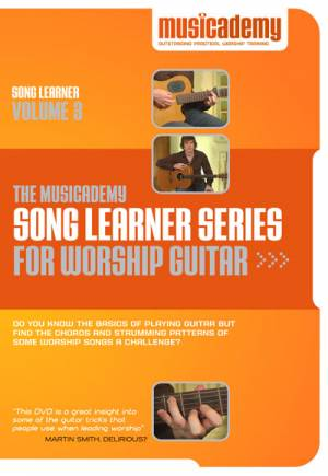 Song Learner Series for Worship Guitar: vol. 3