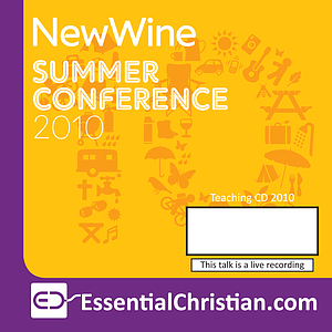 By yourself at New Wine? a talk by Lindsay Melluish & Rev Mark Melluish