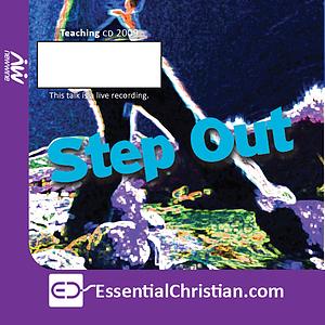 Stepping out in prayer a talk by Laura Garrett
